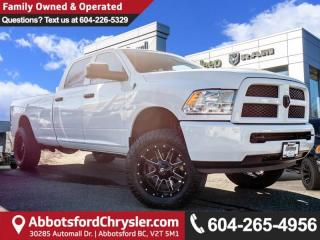 Used 2017 RAM 3500 ST Accident free, Locally driven for sale in Abbotsford, BC