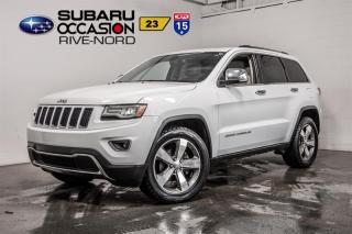 Used 2014 Jeep Grand Cherokee LTD NAVI+CUIR+TOIT.O for sale in Boisbriand, QC