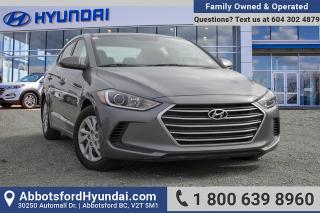 Used 2018 Hyundai Elantra LE ACCIDENT FREE for sale in Abbotsford, BC