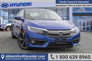 Used 2017 Honda Civic Touring BC OWNED for sale in Abbotsford, BC