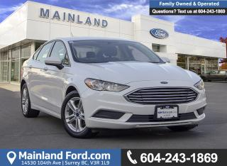 Used 2018 Ford Fusion SE ACCIDENT FREE, OOP, EX-RENTAL for sale in Surrey, BC