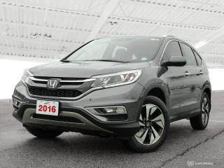 Used 2016 Honda CR-V Touring USED SALES TEAM NOW IN THE MAIN SHOWROOM for sale in Waterloo, ON