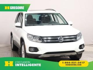 Used 2015 Volkswagen Tiguan édition Sp. 4motion for sale in St-Léonard, QC