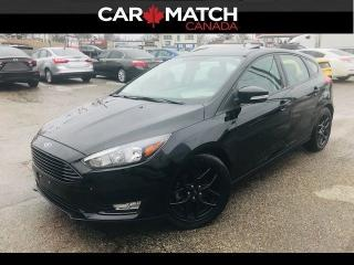Used 2018 Ford Focus SEL / SUNROOF / NO ACCIDENTS for sale in Cambridge, ON