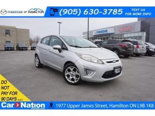 Used 2011 Ford Fiesta SES | HEATED SEATS | SAT RADIO | USB & AUX for sale in Hamilton, ON