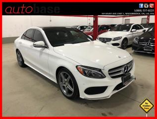 Used 2016 Mercedes-Benz C-Class C300 4MATIC PREMIUM PLUS BURMESTER SPORT LED for sale in Vaughan, ON