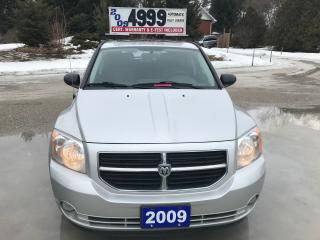 Used 2009 Dodge Caliber SXT for sale in Oro Medonte, ON