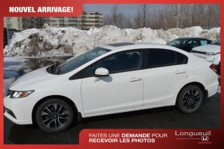 Used 2015 Honda Civic EX **Jamais accidenté , un seul propriét for sale in Longueuil, QC
