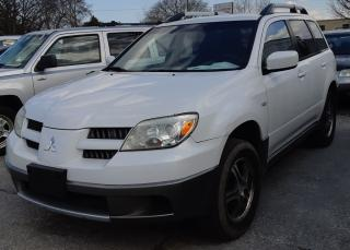 Used 2005 Mitsubishi Outlander LS for sale in Sarnia, ON