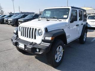 New 2019 Jeep Wrangler Unlimted Sport S|4X4|2.0L|CONVENIENCE GROUP|UCONNE for sale in Concord, ON
