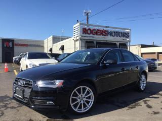 Used 2014 Audi A4 2.0T QTRO - NAVI - LEATHER - SUNROOF for sale in Oakville, ON