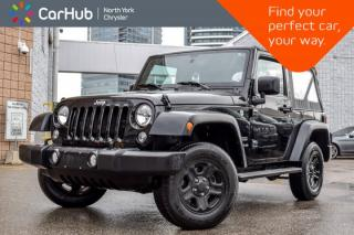 Used 2016 Jeep Wrangler SPORT for sale in Thornhill, ON