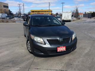 Used 2009 Toyota Corolla 4 Door, Automatic, 3 Years warranty available for sale in Toronto, ON