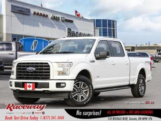 Used 2017 Ford F-150 | BACK UP CAM | 4X4 | LEATHER SEATS | SYNC | for sale in Etobicoke, ON