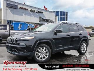 Used 2015 Jeep Cherokee Limited for sale in Etobicoke, ON