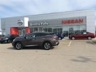 Used 2016 Nissan Murano SL AWD CVT for sale in Smiths Falls, ON
