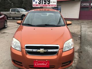 Used 2007 Chevrolet Aveo LS for sale in Oro Medonte, ON