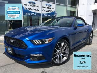 Used 2017 Ford Mustang EcoBoost Premium for sale in St-Georges, QC