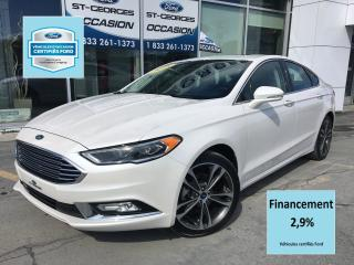 Used 2018 Ford Fusion Titanium Awd Cert. for sale in St-Georges, QC