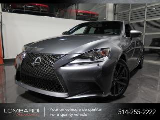 Used 2015 Lexus IS 250 |F SPORT|SERIE 2|AWD|CUIR|NAVIGATION| for sale in Montréal, QC