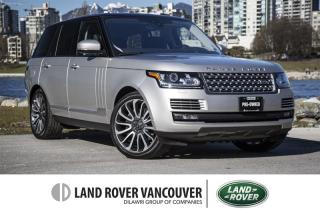 Used 2017 Land Rover Range Rover V8 Autobiography Supercharged SWB *Certified Warranty! for sale in Vancouver, BC