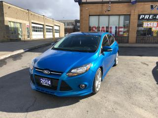 Used 2014 Ford Focus Titanium/NAVIGATION/LEATHER/SERVICE RECO for sale in North York, ON