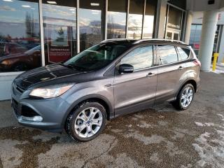 Used 2014 Ford Escape TITANIUM; KEYLESS ENTRY, BACKUP CAM, HEATED SEATS, BLUETOOTH AND MORE for sale in Edmonton, AB