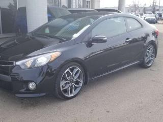 Used 2014 Kia Forte Koup SX, BLUETOOTH, BACKUP CAM, HEATED SEATS AND MORE for sale in Edmonton, AB