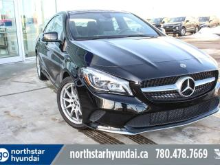 Used 2018 Mercedes-Benz CLA-Class CLA 250 AWD/LEATHER/PANOROOF/BACKUP CAM for sale in Edmonton, AB