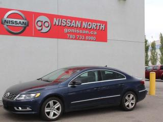 Used 2014 Volkswagen Passat CC Sportline/SUNROOF/LEATHER/HEATED SEATS for sale in Edmonton, AB