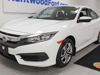 Used 2018 Honda Civic Sedan LX FWD with heated seats and a back up cam for sale in Edmonton, AB