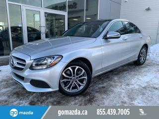 Used 2017 Mercedes-Benz C-Class C 300 4MATIC LEATHER SUNROOF NAV /NICE CAR for sale in Edmonton, AB