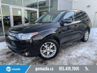 Used 2014 Mitsubishi Outlander GT AWC LEATHER SUNROOF 7 PASS V6 for sale in Edmonton, AB