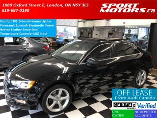 Used 2015 Audi A3 1.8T Komfort+Heated Leather Seats+Xenons+Bluetooth for sale in London, ON