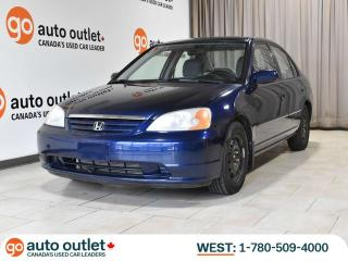Used 2001 Honda Civic LX-G Sedan, A/C, Power Mirrors for sale in Edmonton, AB
