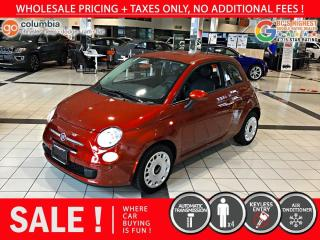 Used 2014 Fiat 500 Pop for sale in Richmond, BC