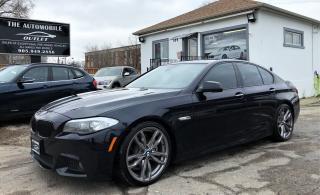 Used 2013 BMW 528 528xi 5 series 528i xDrive M Pkg NAVI BACK-UP CAM for sale in Mississauga, ON