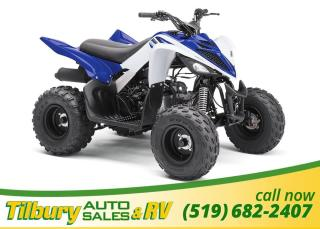 New 2018 Yamaha RAPTOR 90 GREAT KIDS ATV for sale in Tilbury, ON