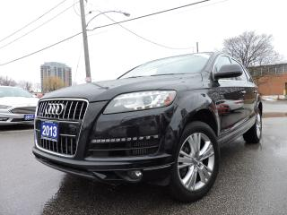 Used 2013 Audi Q7 TDI Pano Roof | Rev Camera | Low km for sale in BRAMPTON, ON