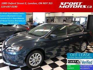 Used 2016 Nissan Sentra SV+Camera+Heated Seats+Bluetooth+A/C+Push Start for sale in London, ON