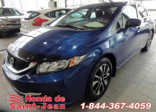 Used 2015 Honda Civic EX Berline  Automatique Toit Camera Mags for sale in St-Jean-Sur-Richelieu, QC