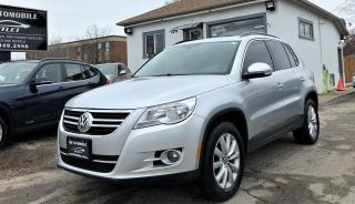 Used 2011 Volkswagen Tiguan Highline AWD PANO ROOF NO ACCIDENT for sale in Mississauga, ON