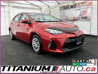 Used 2017 Toyota Corolla SE-Camera-Sunroof-Heated Leather Seats-Safety Sens for sale in London, ON
