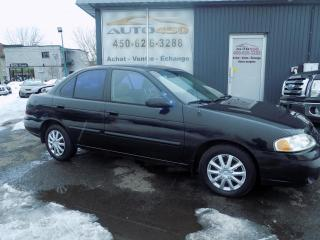 Used 2001 Nissan Sentra +++GXE,AUTOMATIQUE,AIR CLIM+++ for sale in Longueuil, QC
