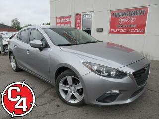 Used 2014 Mazda MAZDA3 GX-SKY AUTO A/C GR ÉLECT JAMAIS ACCIDENTÉ for sale in St-Jérôme, QC
