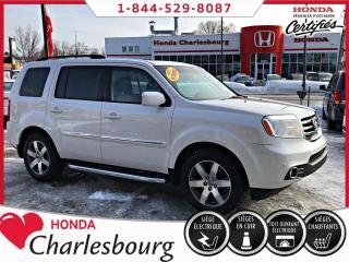 Used 2013 Honda Pilot TOURING 4WD ***SYSTÈME DE DIVERTISSEMENT for sale in Charlesbourg, QC