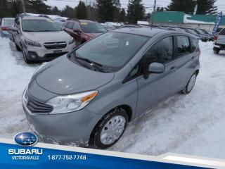Used 2014 Nissan Versa Note 1.6 S à hayon 5 portes BM for sale in Victoriaville, QC