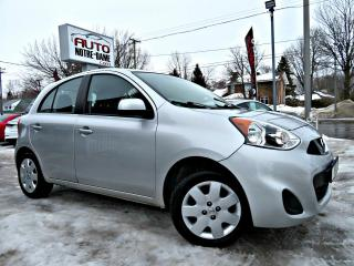 Used 2015 Nissan Micra SV -- CAM RECUL - BLUETOOTH -- for sale in Repentigny, QC