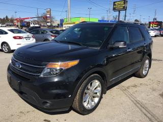 Used 2014 Ford Explorer Limited * 4WD * 7 Passenger * Fully Loaded * for sale in London, ON