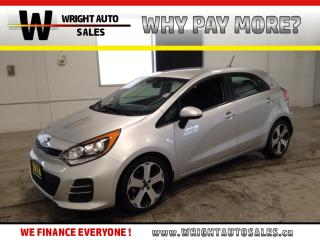 Used 2016 Kia Rio SX|LEATHER|BACKUP CAMERA| 39,765 KMS for sale in Cambridge, ON